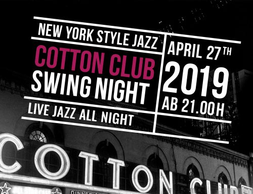 Live Jazz: Cotton Club Swing Night
